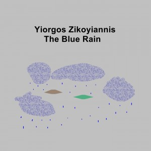 THE BLUE RAIN ART COVER